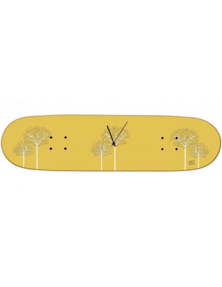 Skateboard reloj de pared Boneless - Birch Tree