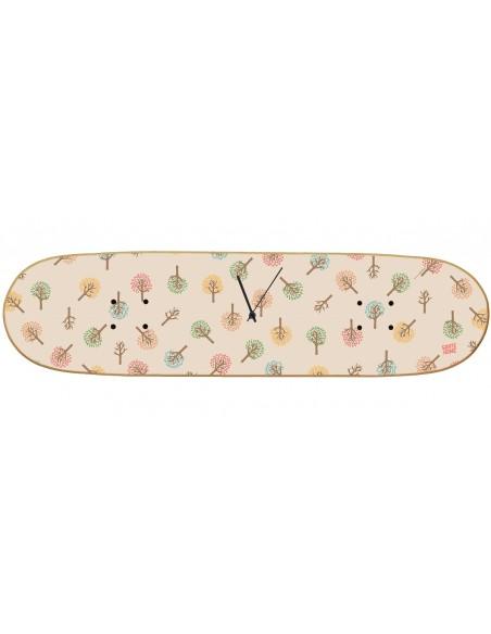 Skateboard Horloge murale Boneless - Fall Tree