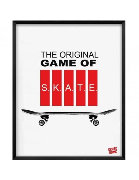Skateboard Illustration - Game of skate