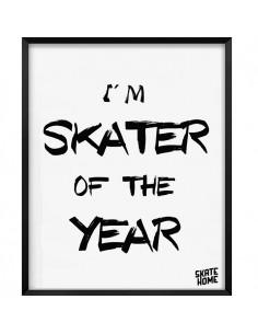 Skateboard Ilustración - I am skater of the year