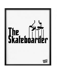Skateboard Ilustración - The Skateboarder