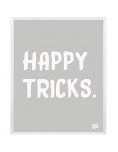 Skateboard Ilustracion - Happy Tricks