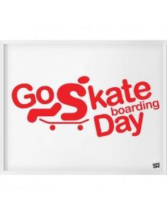 Skateboard Ilustracion - Go Skateboarding Day
