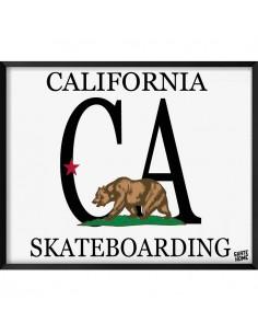 Skate Ilustración - California skateboarding