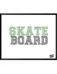 Skate Ilustración - Skateboard