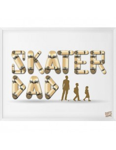 Skateboard Abbildung - Skater Dad