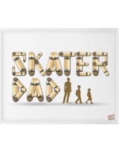 Skateboard Ilustración - Skater Dad