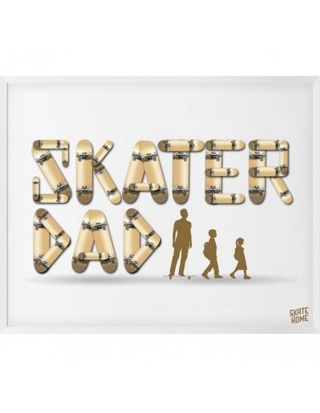 Skateboard Illustration - Skater Dad