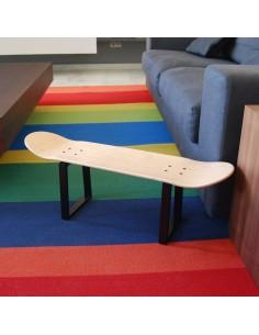 Skateboard Hocker No Comply, natürlichen holz