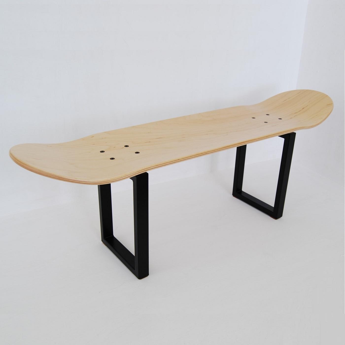 skater weihnachten gift skateboard deck hocker beine couchtisch - Skateboard Bank Beine
