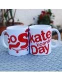 Tasse - Go skateboarding day - Présent parfait pour skateurs