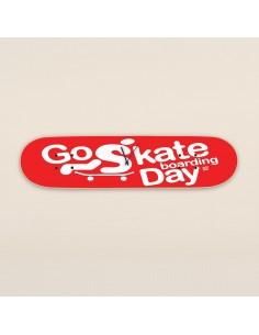 Go Skateboarding Day, Wall Clock Red