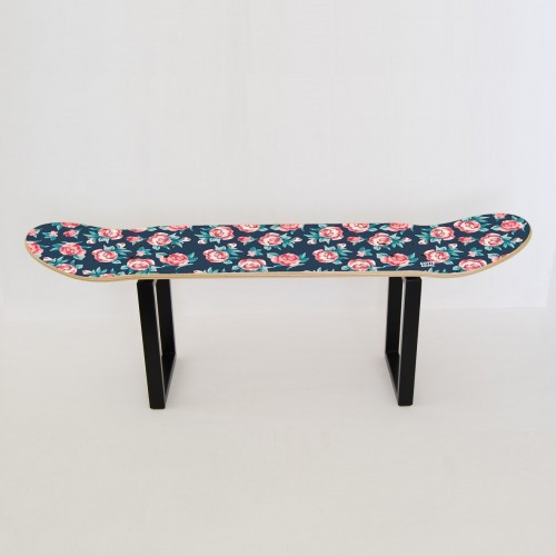 Skateboard stool No comply - Small Roses