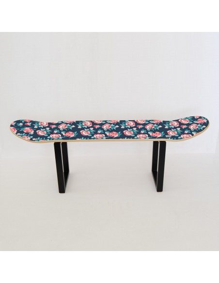 Tabouret Skateboard No Comply - Petites Roses