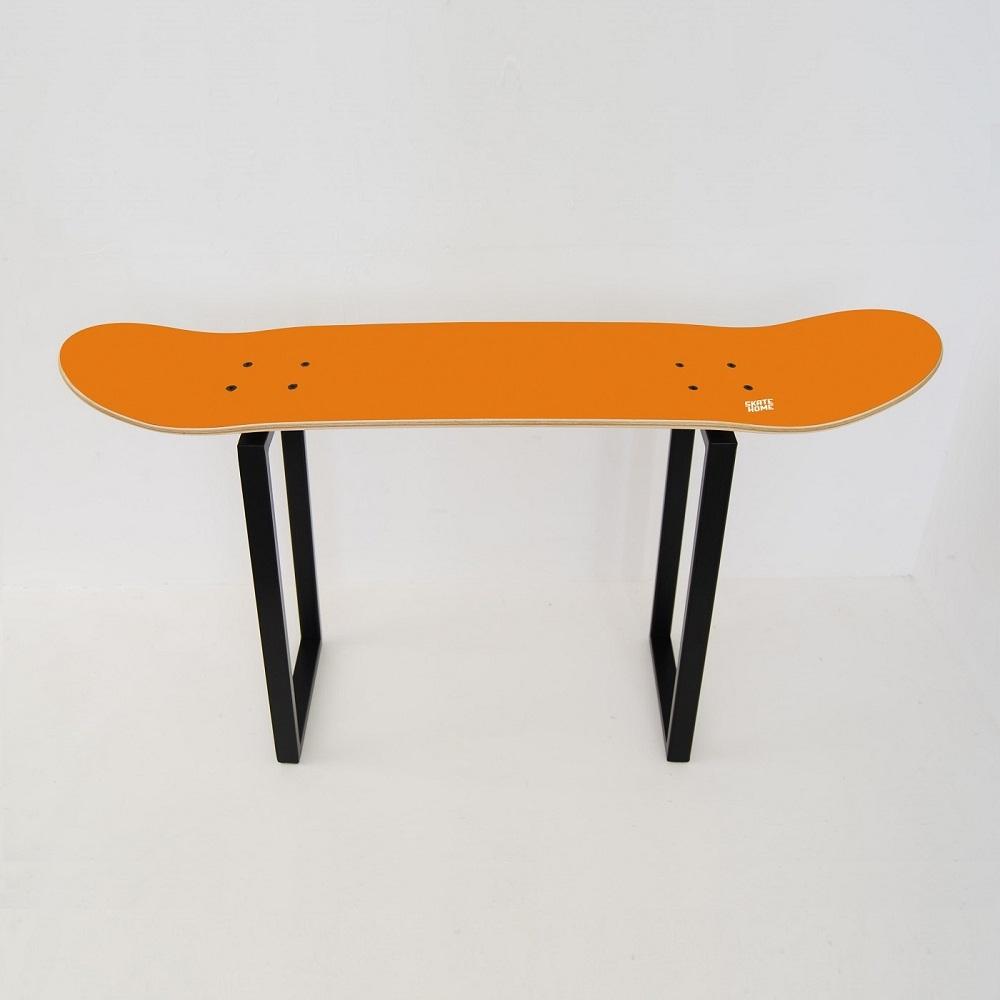 skateboard bank orange - Skateboard Bank Beine