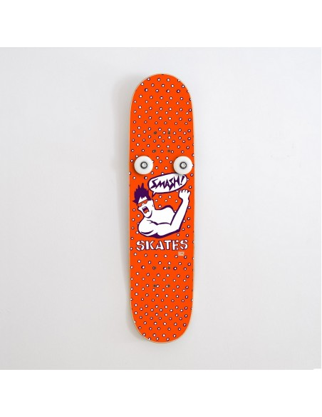 Vertical Porte-manteau Skateboard Handplant, Smash