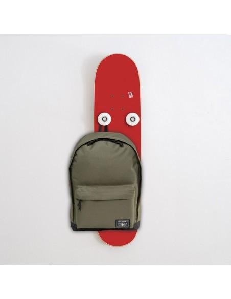 Vertical Porte-manteau Skateboard Handplant, Rouge