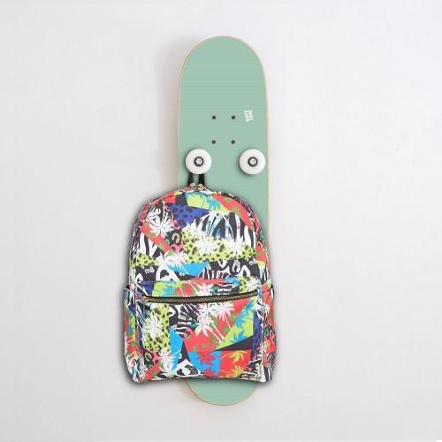 Vertical Porte-manteau Skateboard Handplant, Menthe