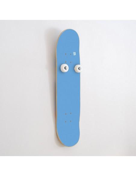 Vertical Porte-manteau Skateboard Handplant, Bleu