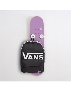 Vertical Porte-manteau Skateboard Handplant, Violet