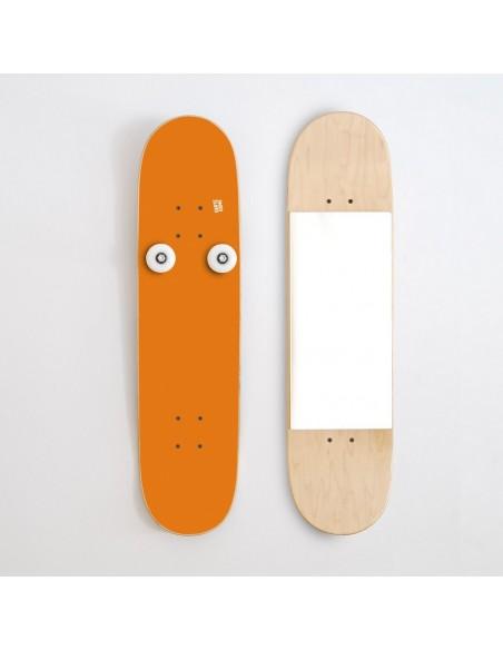 Vertikal Garderobenständer und Spiegel, Orange