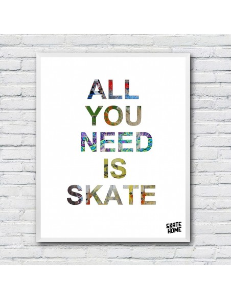 All You Need Is Skate - Ilustración de descarga