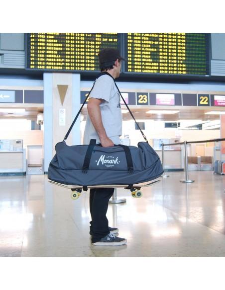 Mochila de Viaje Skate Duffle Bag - Gris