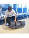 Skate Travel Duffle Bag - Gray