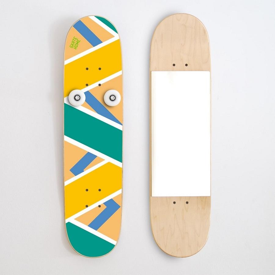 le meilleur cadeau pour skateur vertical porte manteau et miroir. Black Bedroom Furniture Sets. Home Design Ideas