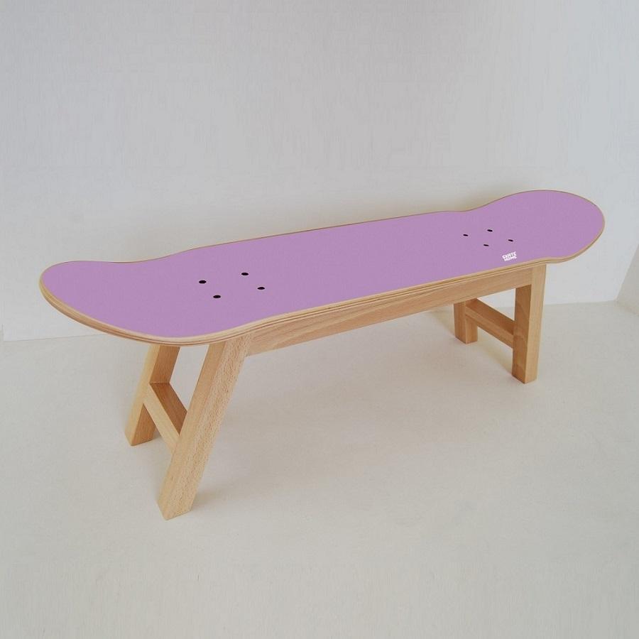 Skate raum mit diesem hocker mit skateboard - Skateboard mobel ...