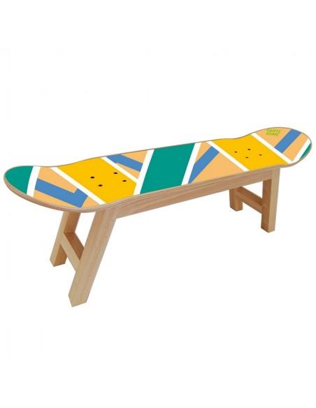 Skateboard Tabouret Olliepops, Acid - Cadeau Spécial pour Skater