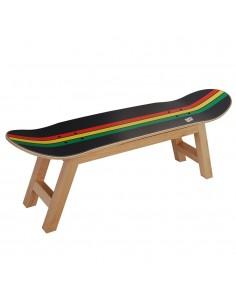 Cadeau pour les amateurs de skateboard et de culture Reggae