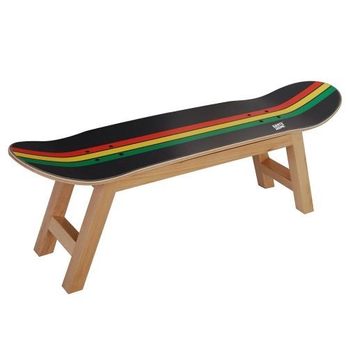 Regalo especial para amantes del skate y de la cultura Reggae