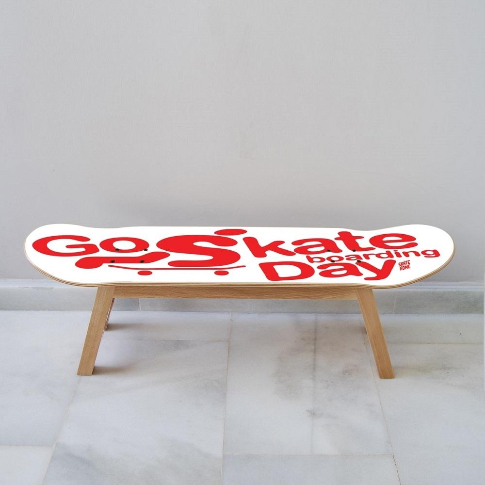 skate m bel um einen skateboarder in einem sportraum zu motivieren. Black Bedroom Furniture Sets. Home Design Ideas