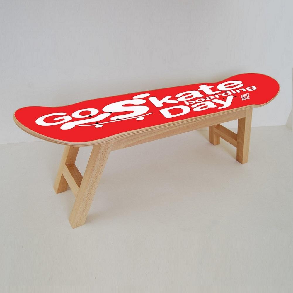 Feier des go skateboarding mit diesen m beln f r skater - Skateboard mobel ...