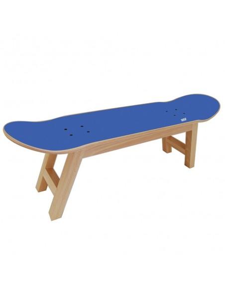 Skateboard hocker Nollie Flip, Blauen königlichen