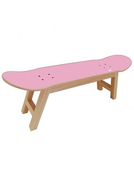 Skateboard taburete Nollie Flip, Rosa