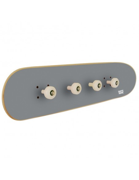 Skateboard Wandaufhänger Pivot Grind, Grau