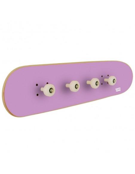 Skateboard Wall Coat rack Pivot Grind, Purple