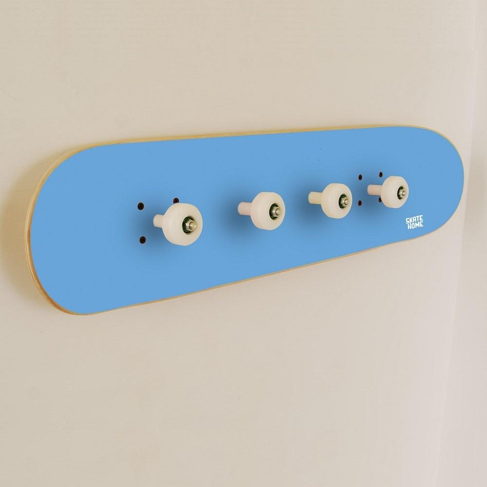 porte manteau donner un passionn de planche skateboard. Black Bedroom Furniture Sets. Home Design Ideas