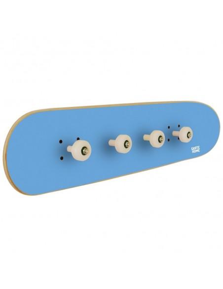 Skateboard Wandaufhänger Pivot Grind, Blau