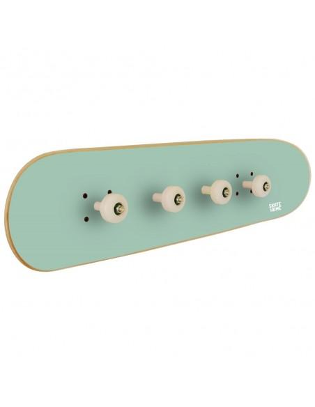 Skateboard Portemanteau Pivot Grind, Menthe