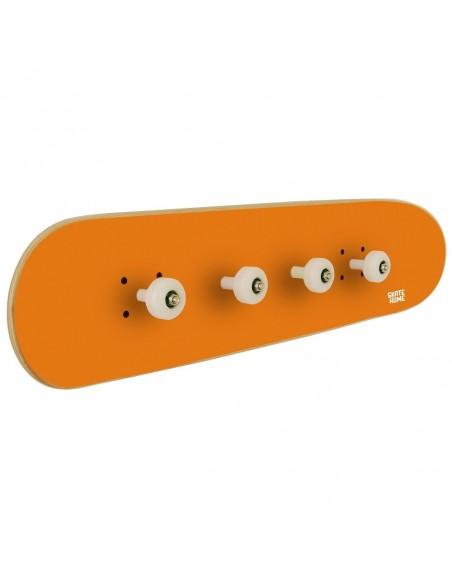 Skateboard Portemanteau Pivot Grind, Orange