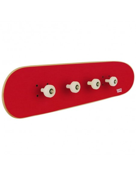 Garderobenleiste Skateboard, Rot
