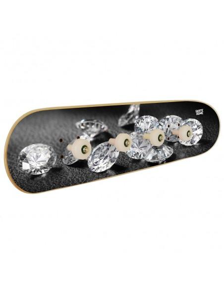 Skateboard Porte-manteau - Diamond Spilled Jewels