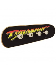 Thrashin skate coat rack