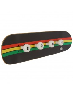 Skate Wandgarderobe Rasta Linien