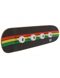 Perchero Skate Rasta Líneas