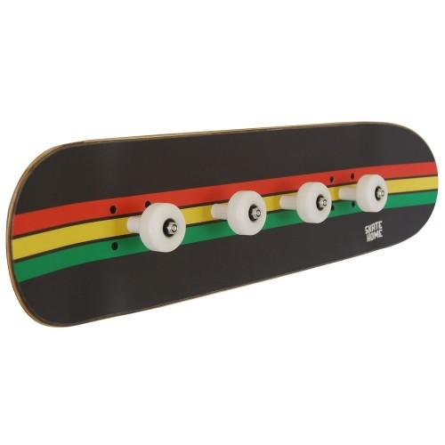 Skate Porte-manteau lignes Rasta