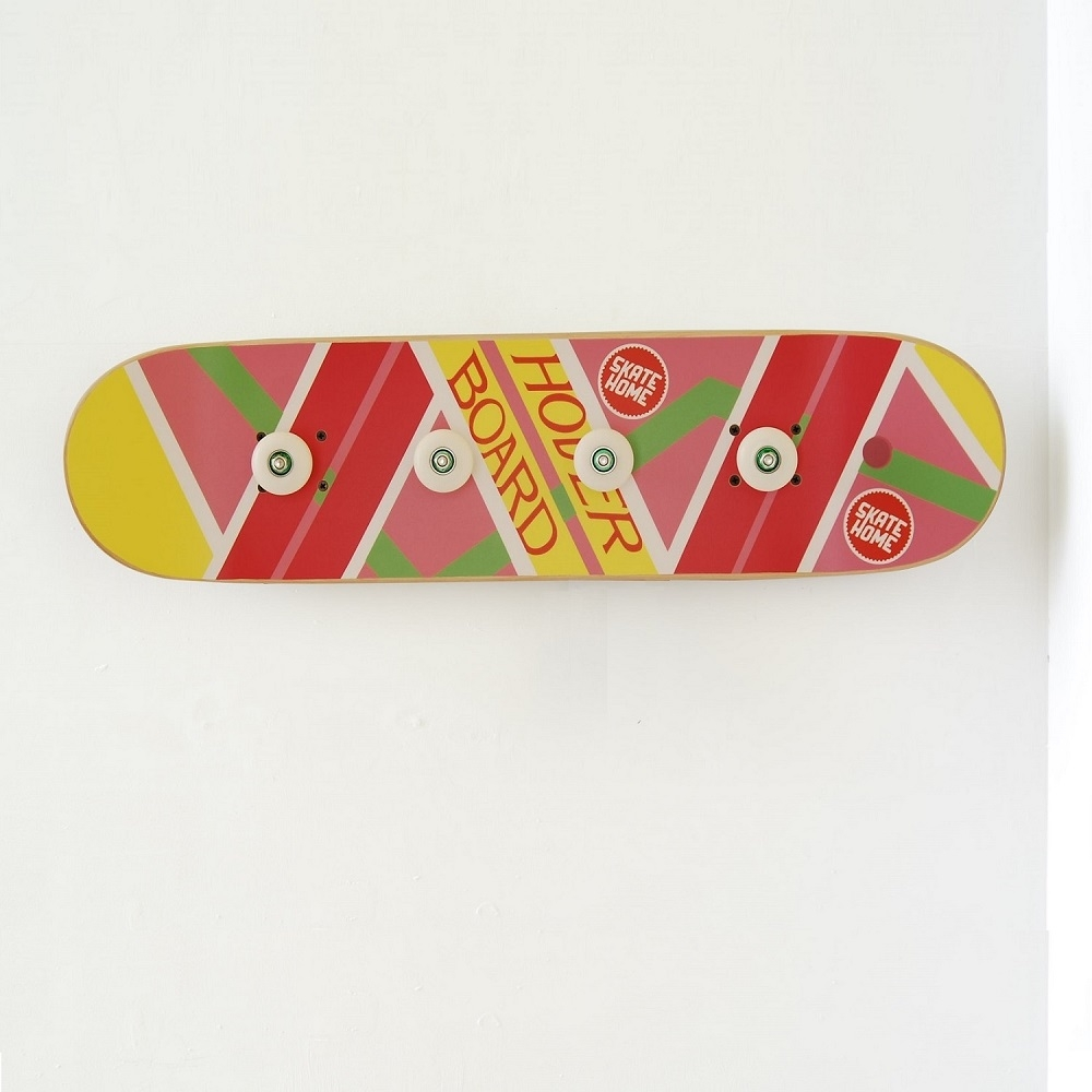 skateboard porte manteau th me salle pour skateboarder ou. Black Bedroom Furniture Sets. Home Design Ideas